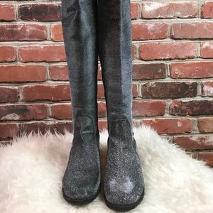 NWOT Ungillean knee high boots size 7